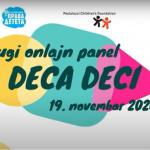 Onlajn panel u susret Međunarodnom danu deteta